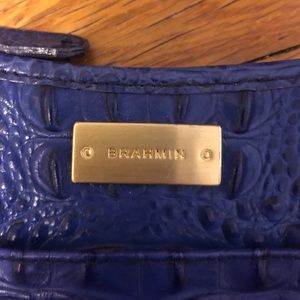 Crossbody Brahmin bag electric blue